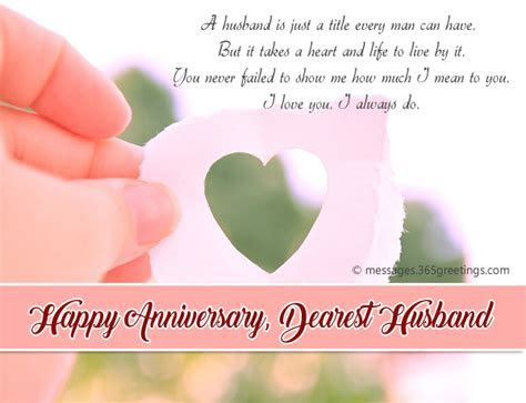 Anniversary Wishes For Husband   365greetings.com