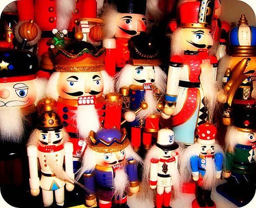 My nutcracker collection was featured on the Etsy Storque!