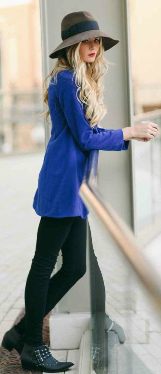Cobalt Top by Barefoot Blonde.