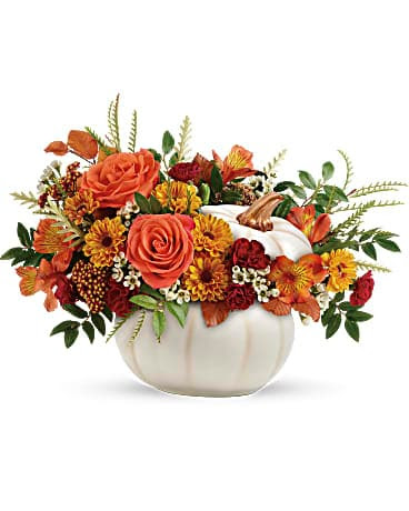 Teleflora S Enchanted Harvest Bouquet In Knoxville Tn Petree S Flowers Inc