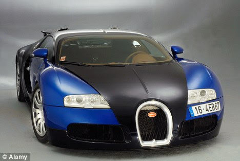 World's fastest: The supercar can go from zero to 60 in 2.5 seconds