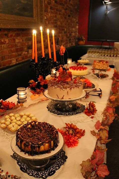 357 best Thanksgiving Dessert Table images on Pinterest