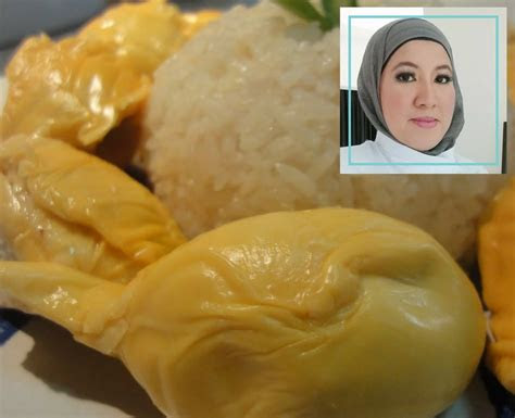 suka makan pulut durian wanita ni kongsi resipi asli