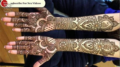 Bridal Mehndi Photos only 2018 Full Size and HD Download