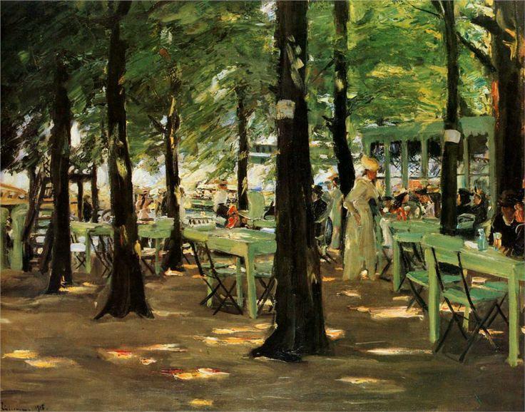 Restaurant De oude Vink, de Max Liebermann, 1905