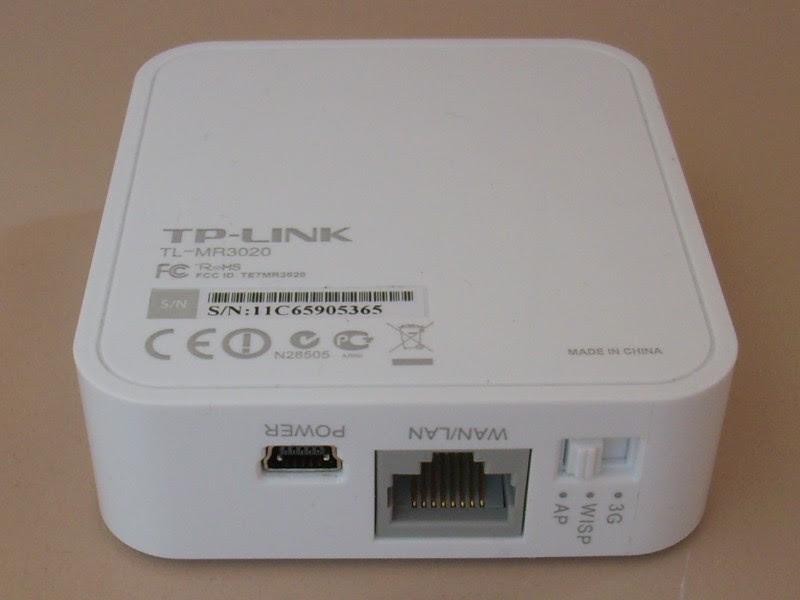 راوتر لاسلكي N تي بي لينك TL-MR3020