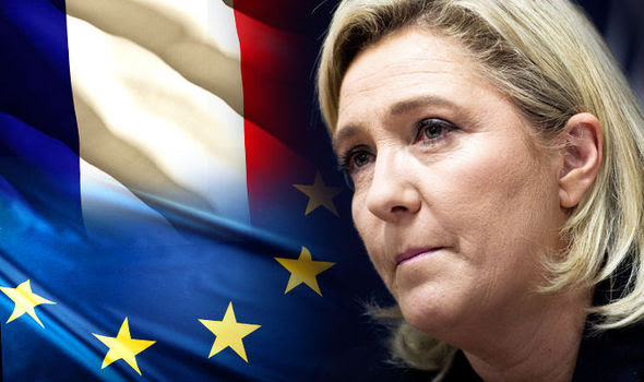 Marine Le Pen has promised a Frexit vote