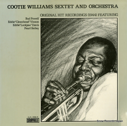 WILLIAMS, COOTIE cootie williams sextet and orchestra