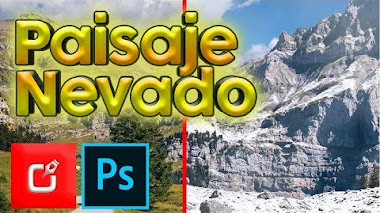 �� Crear Paisaje Nevado en Photoshop | Efecto de Nieve en Photoshop ⭐