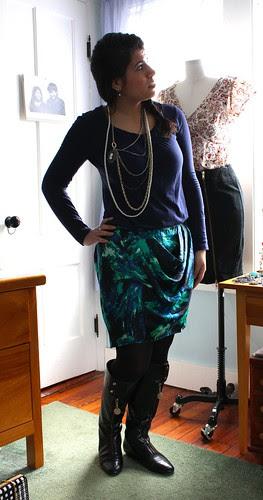 Shattered Glass Skirt