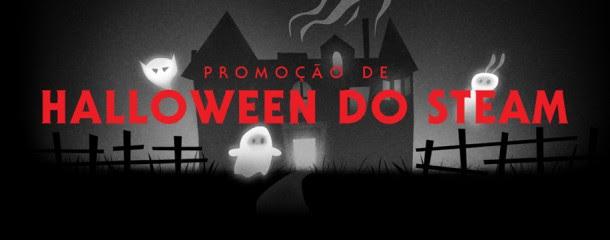 Steam - 400 jogos em promoção de Halloween