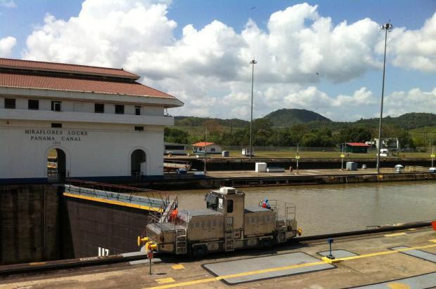 Uma das maiores conquistas de engenharia do planeta, Canal do Panamá passa por ampliação Marcela Duarte/Agência RBS