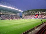 JJB Stadium: Too busy to be a football match