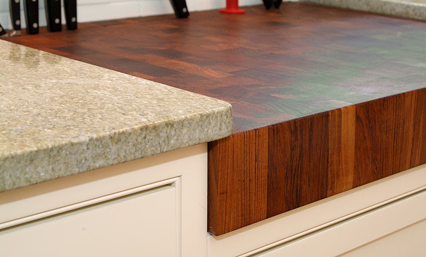 Teak Wood Countertops, Butcher Block Countertops, Bar Tops