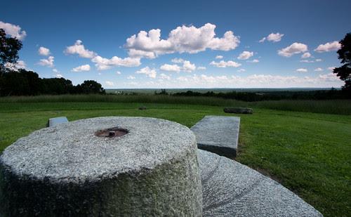 solstice stones atop holt hill
