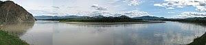 The Yukon River at Eagle, Alaska