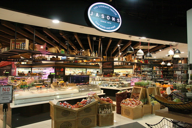 Jasons the Gourmet Grocer is also now at ToTT