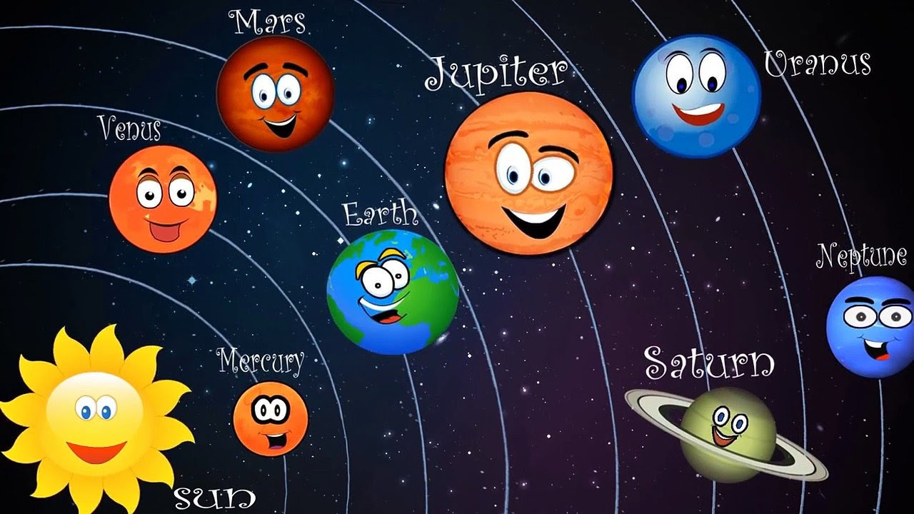 the solar system for kids - 1280×720