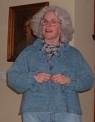 Dee's sweater