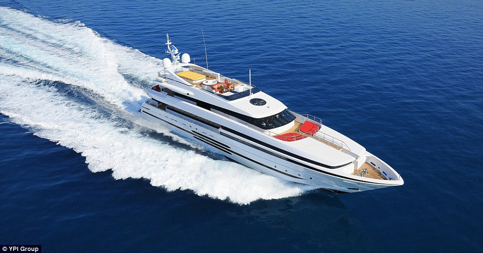 While most of the superyachts that are for sale have plenty of miles behind them, Balista has never been used by its current owner