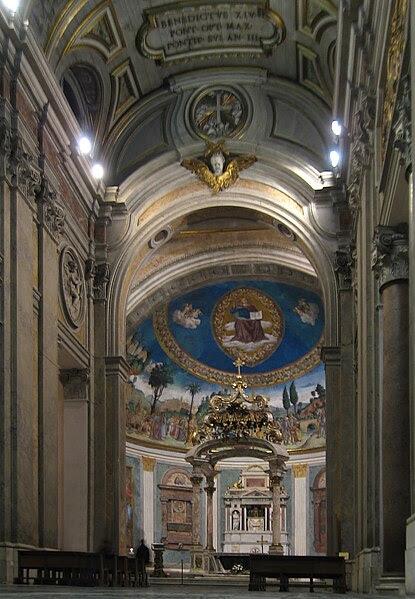 File:Santa Croce in Gerusalemme Innenraum 2009.jpg