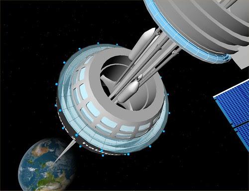 Space Elevator GEO Station