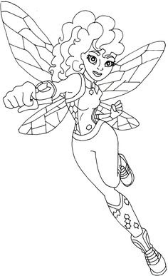 dc superhero girls coloring pages at getcolorings