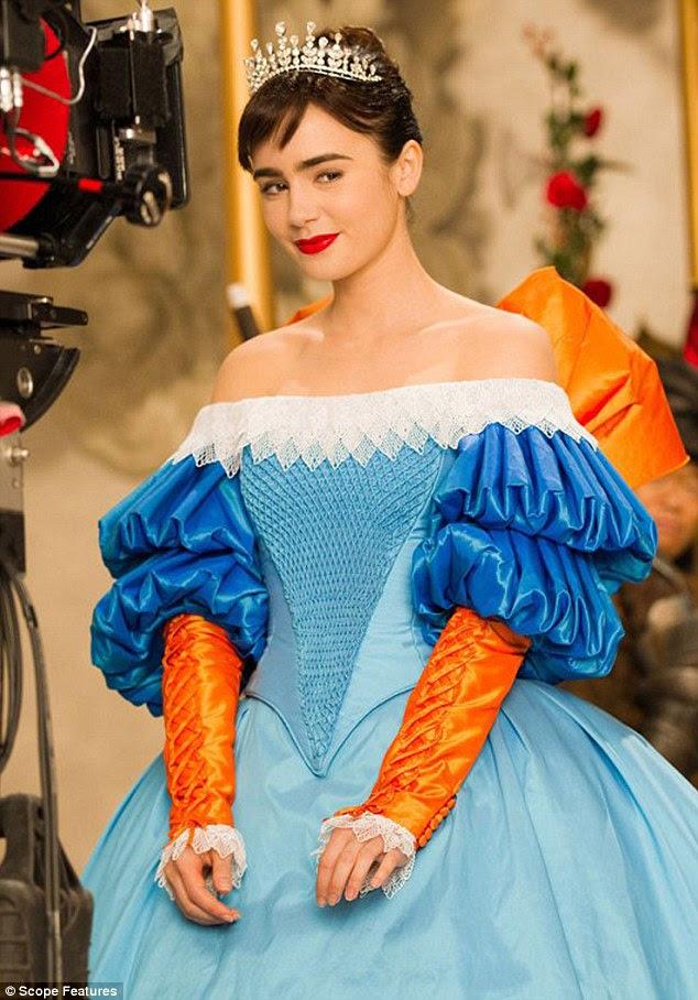 Linda princesa: estrelas Lily como Branca de Neve no espelho próximo filme, Mirror