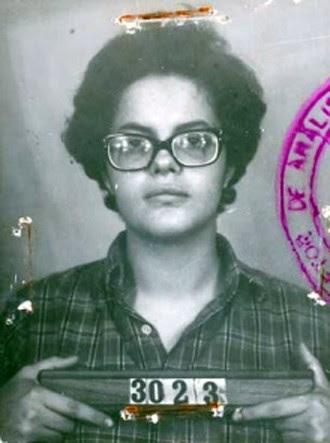 Foto de identificação de Dilma feita pelo Departamento de Ordem Pública e Social (Dops) após a sua prisão em 1970. A petista relembrou o passado de luta contra a ditadura na campanha presidencial.