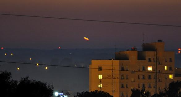 OVNI fotografiado sobre la ciudad polaca de Elblag