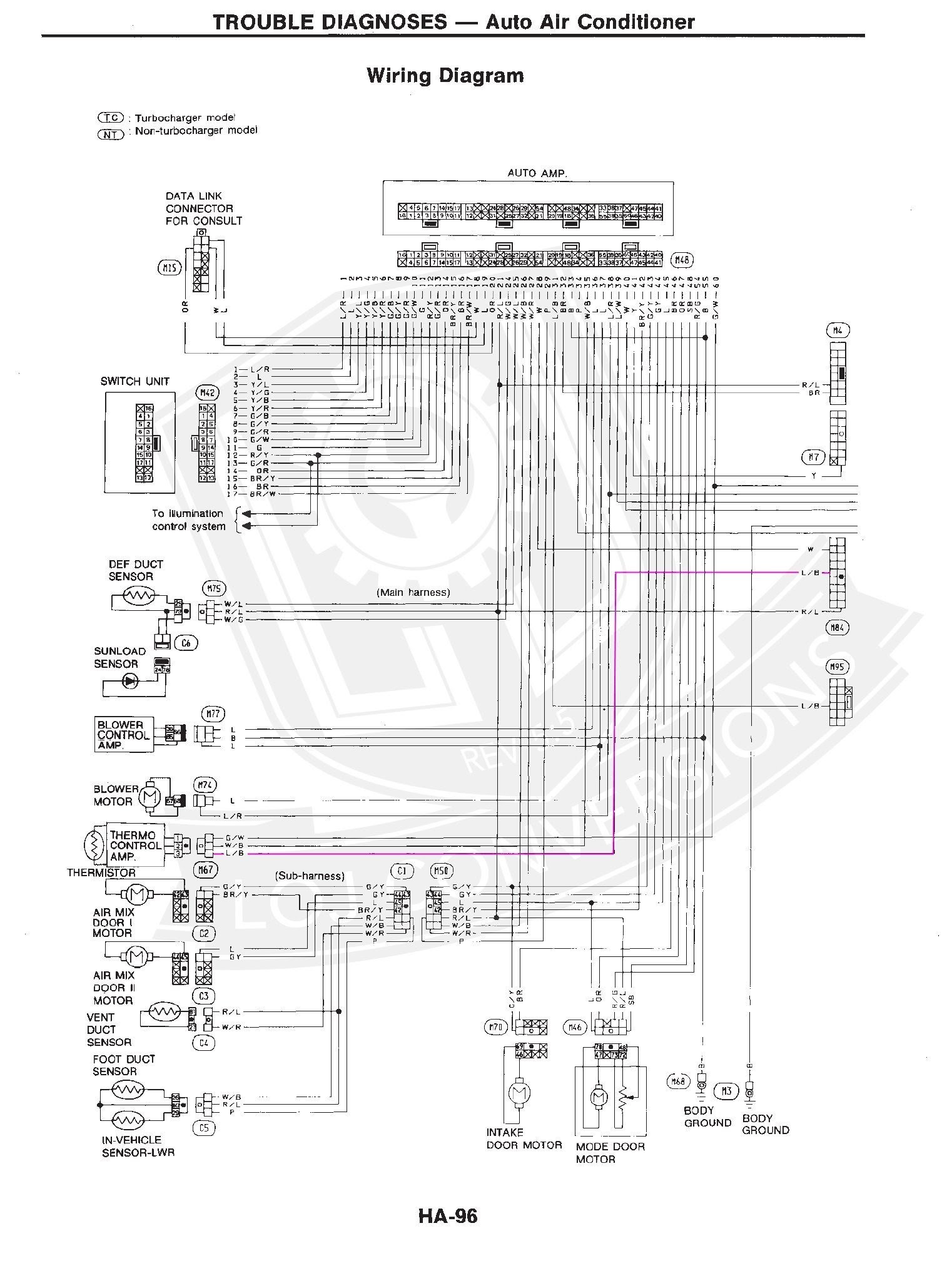 1990 300zx Wiring Diagram