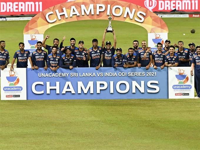 3rd ODI: Sri Lanka bag consolation three-wicket win; India clinch series 2-1
