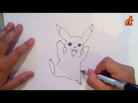 Belajar Menggambar Pikachu Pokemon Playithub Largest Videos Hub