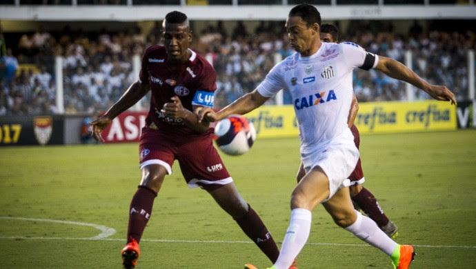 Santos x Ferroviária Ricardo Oliveira (Foto: Agência Estado)