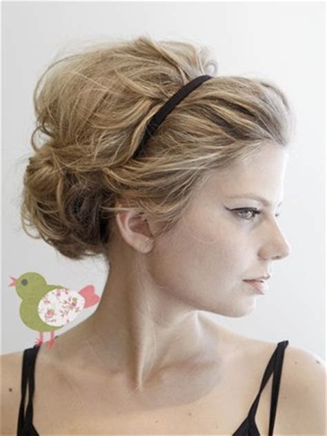 Wedding hair with headband. Give me a sparkly head band