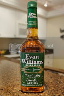 Evan Williams green label makes other bourbons green with envy!