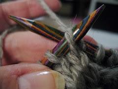 Harmony needles and Hemlock Ring