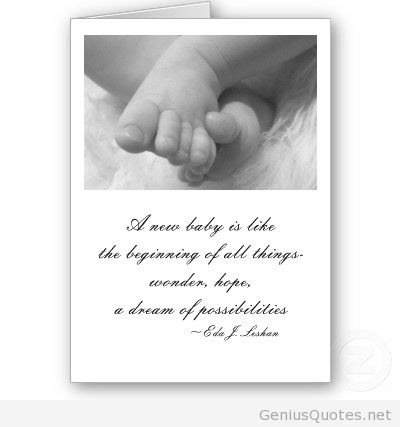 Quotes About New Baby 105 Quotes