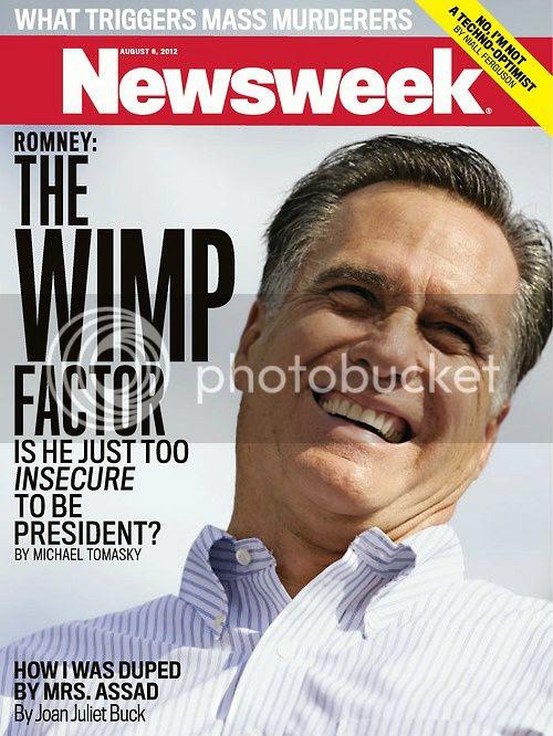 Romney Wimp Newsweek