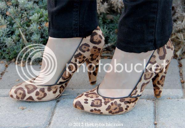 Steve Madden Poized leopard pumps, leopard print heels, Madewell Film Noir look alike pumps