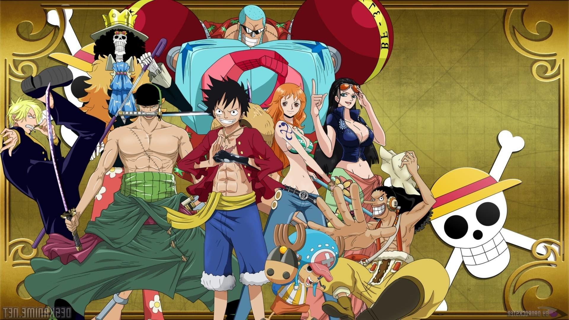 One Piece Crew Mobile Wallpaper Anime Wallpaper Hd