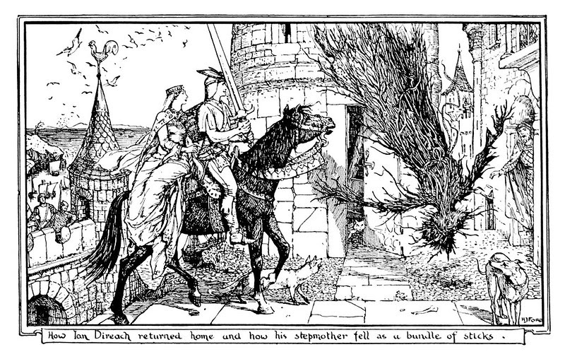 Henry Justice Ford - The orange fairy book edited by Andrew Lang , 1906 (illustration 5)