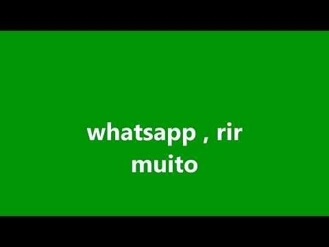 WhatsApp, rir muito 01