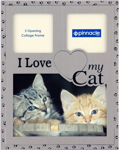 Cheap Cats Pinnacle Frames And Accents Pewter I Love My Cat Collage