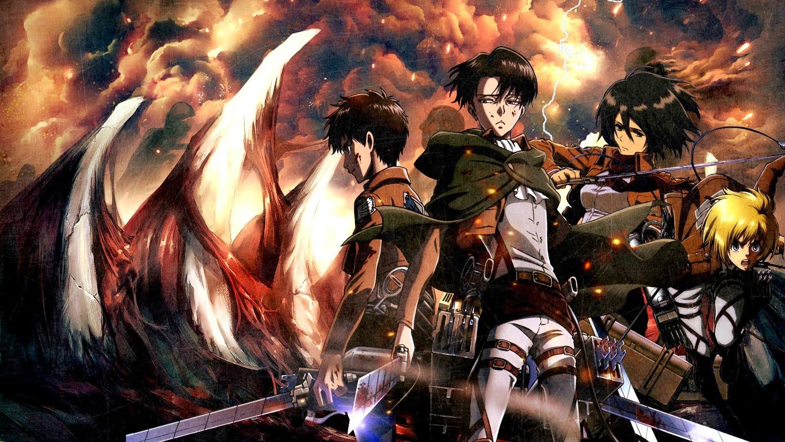 Favorite Scenes Attack On Titan Season 1 D Talks Anime