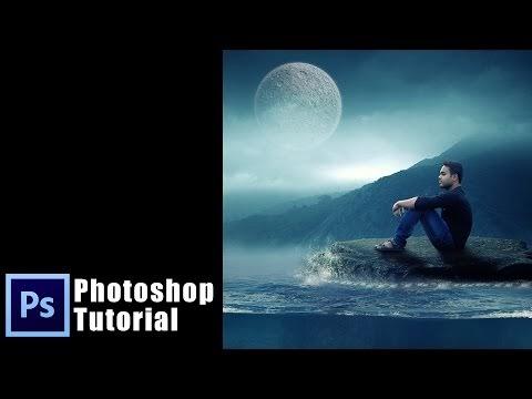 Alone and Sad Boy Photoshop Manipulation | Underwater photoshop tutorial