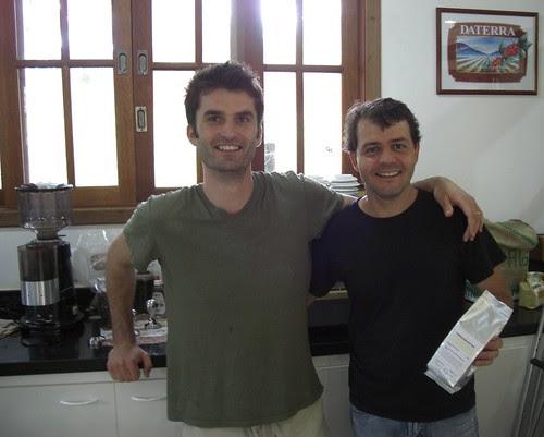 Peter and Carlinhos
