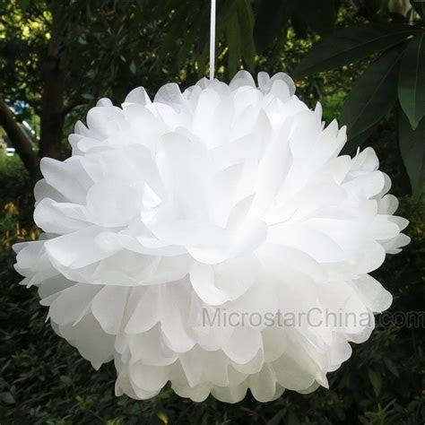 Pom Poms 1pcs 30cm Tissue Paper Artificial Flowers Balls