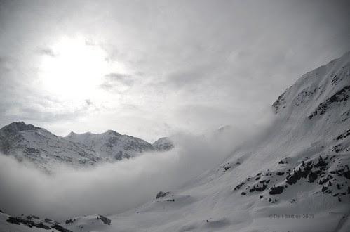 Sun, Snow and Wind, Kaunertal, Austria