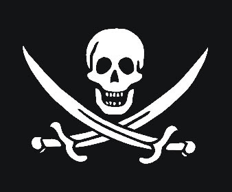 Picture of Calico Jack Rackhams Pirate Flag